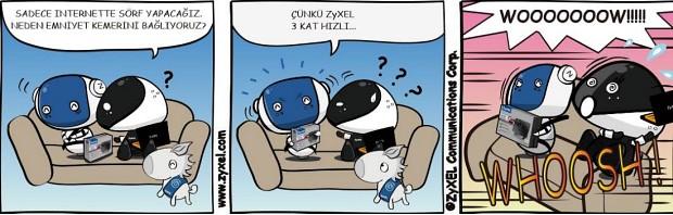 ZyxEL'den yüksek hızlı ve güvenli router!