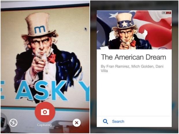 Görsel arama aracı (Android ve iPhone)
