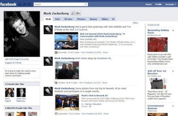 Resimlerle Facebook'un 10 senelik geçmişi!