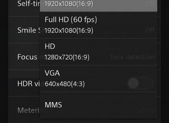 Xperia Z2 Sirius'un kamera işlevleri sızdı!