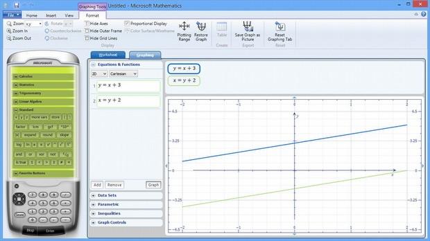 Microsoft Mathematics, pptPlex, Desktops