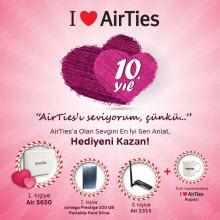 AirTies'tan Sevgililer Günü'ne özel yarışma!