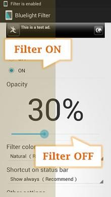 Mavi ışık Filtre - Göz bakımı