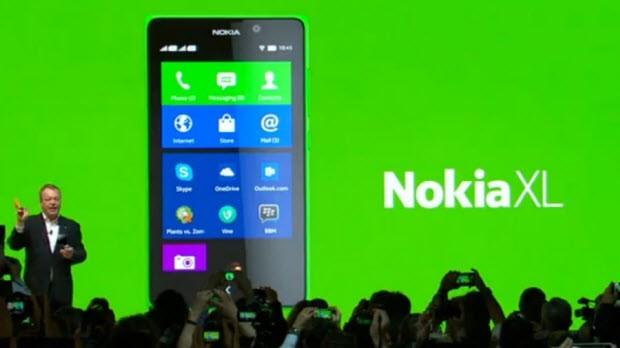 Android'li, dev boyutlu 3. bir cep: Nokia XL