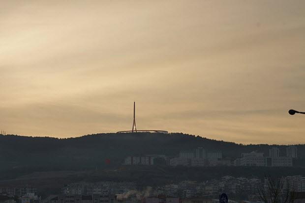 Çanakkale için büyüleyici bir anten kulesi