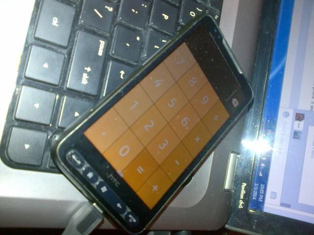 HTC HD2'ye Nokia X görünümü!