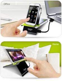 Telefonlar için kablosuz şarj standı!