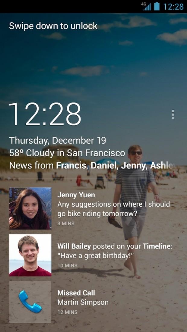 Facebook Home, Next Launcher ve Zeam