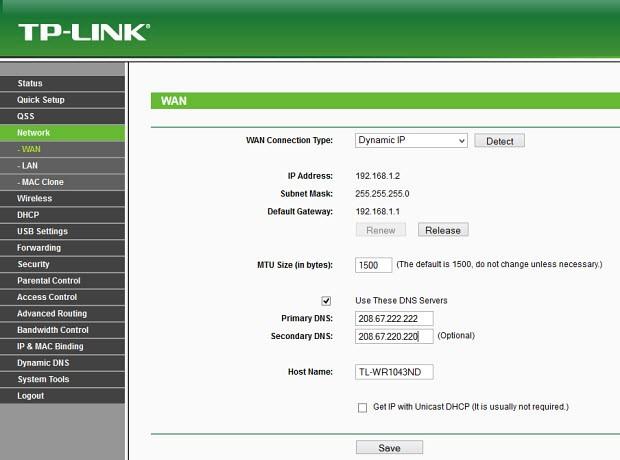 Kökten çözüm: DNS'i router'dan değiştirmek