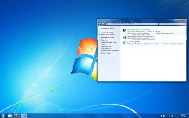 Windows 7'de DNS ayarlarını değiştirmek