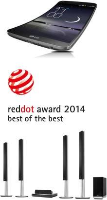 LG'den Red Dot 2014 Ödülleri'nde önemli başarılar