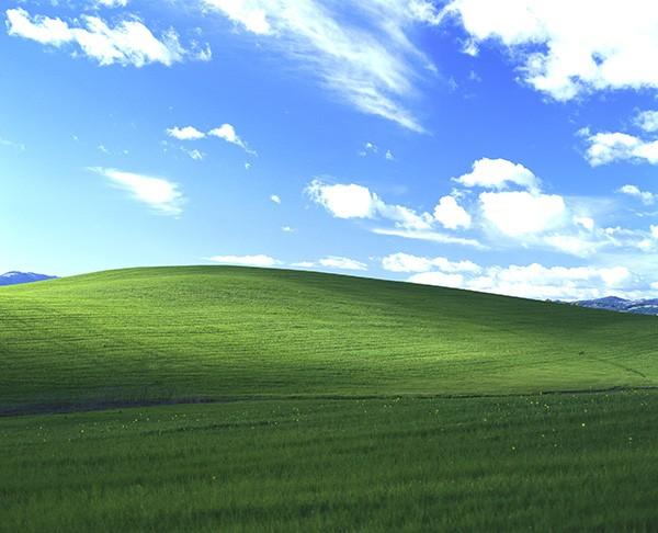 İşte Windows XP'nin arka planının orijinali!