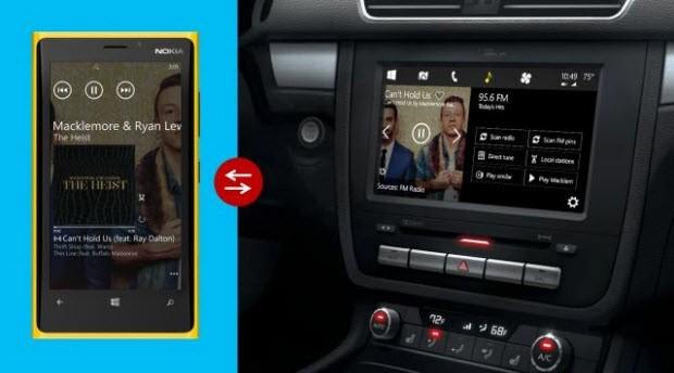 İşte otomobile özel Windows 8 konsepti!