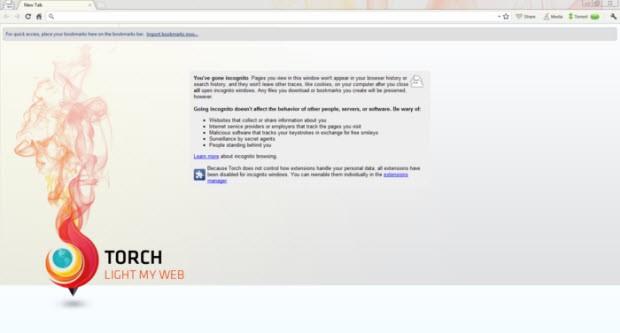 Çokluortam uzmanı: Torch Browser