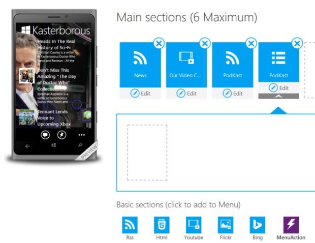 Windows Phone uygulamanızı oluşturun