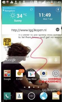 Merakla beklenen LG G3'ten yeni bilgiler!