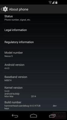 Ve Android 4.4.3'teki diğer 12 onarım!