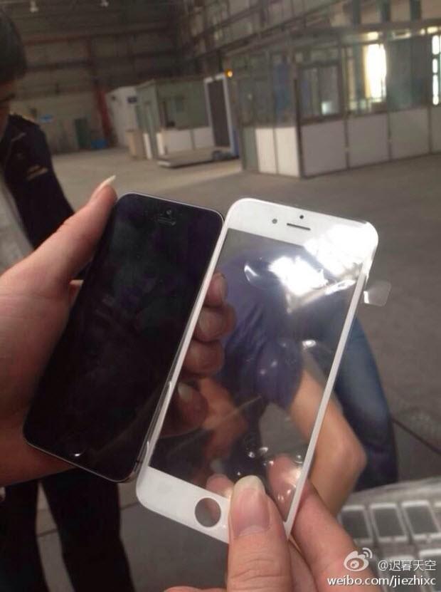 Büyük iPhone 6'nın ön paneli internete sızdı!