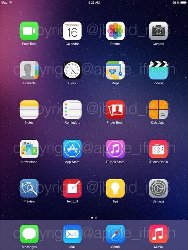 Ve iOS 8'den sızan iki görüntü daha!