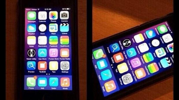 iOS 8, iPhone 5S ve iPad üzerinde yakalandı!