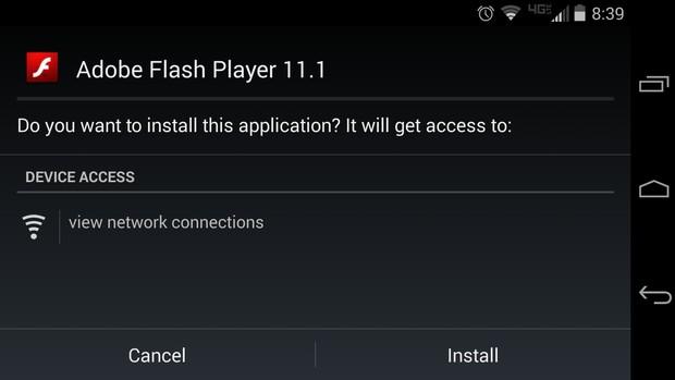 Yeni Android cebinize Flash desteği ekleyin!
