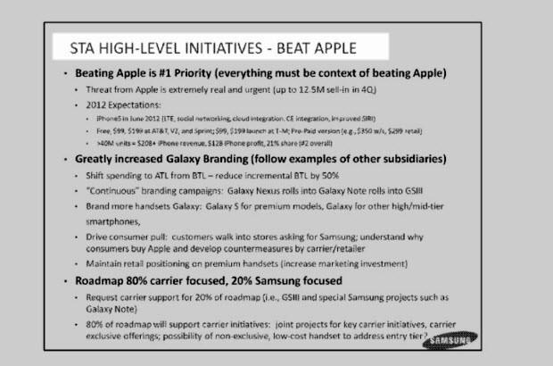 Aslında Apple, rakiplerini dikkate alıyor