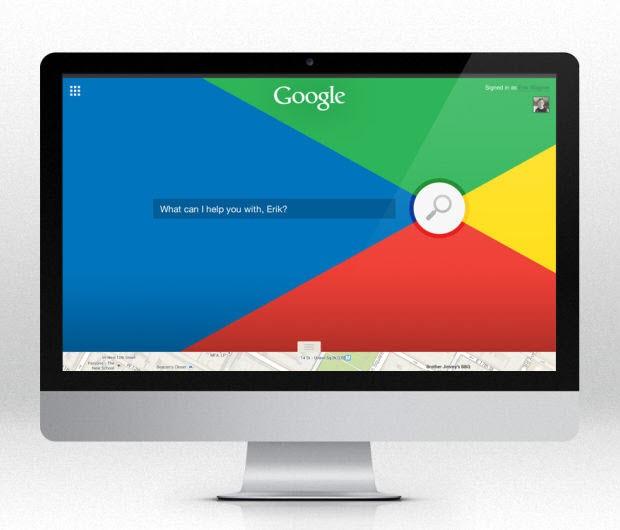 Etkileyici Google anasayfası tasarımları - I