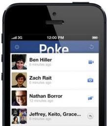 Facebook, Poke ve Camera'yı öldürdü!