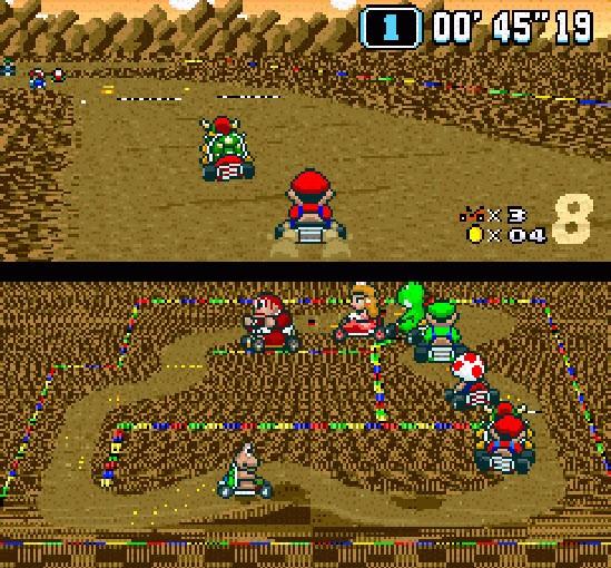 Super Mario Kart, Trackmania ve diğerleri