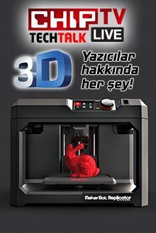Canlı canlı 3D baskı yapıyoruz!