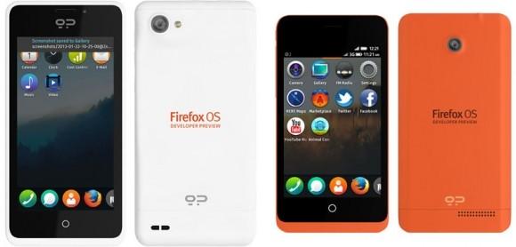 Mozilla Firefox OS ve diğerleri