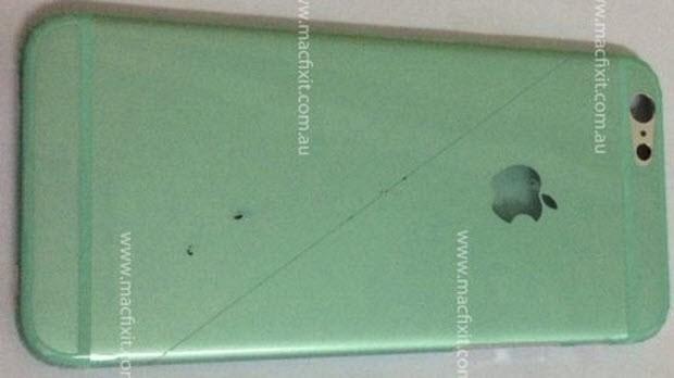 Şimdi de beyaz bir iPhone 6 sızdı!
