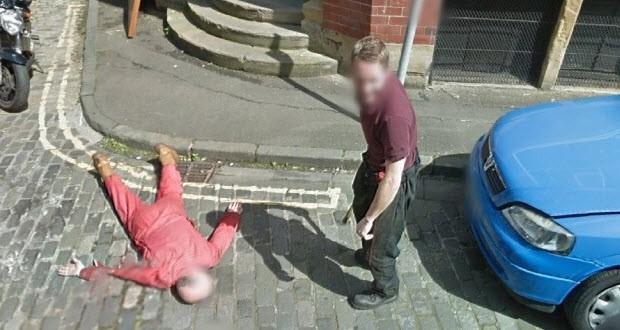 Polisi bile güldüren Street View şakası!