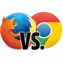 Firefox ve Chrome karşı karşıya!