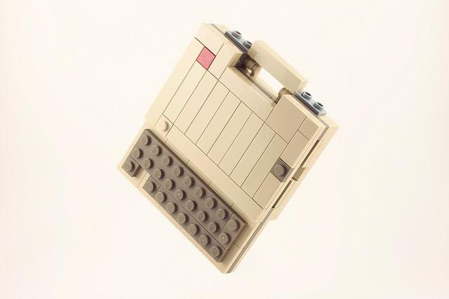 Klasik bilgisayarlar ve lego minyatürleri!