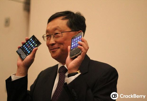 "BlackBerry'den klavyeli ""phablet""!"