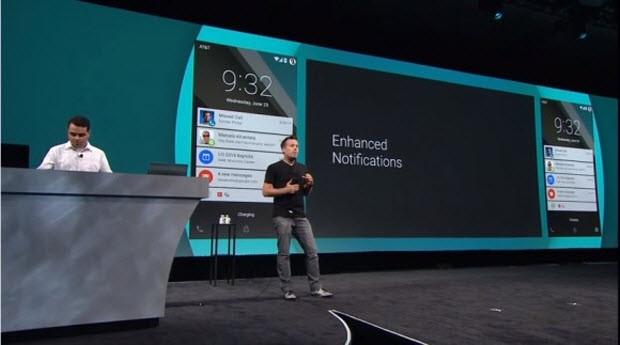Android L ortaya çıktı!