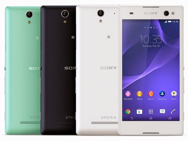 """Sony'den yeni """"Sefie cebi"""" Xperia C3!"""