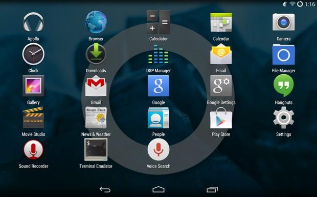 Güncel, stok Android