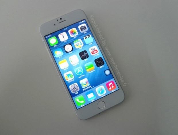 """Çalışan haldeki bir """"iPhone 6"""" sızdı!"""