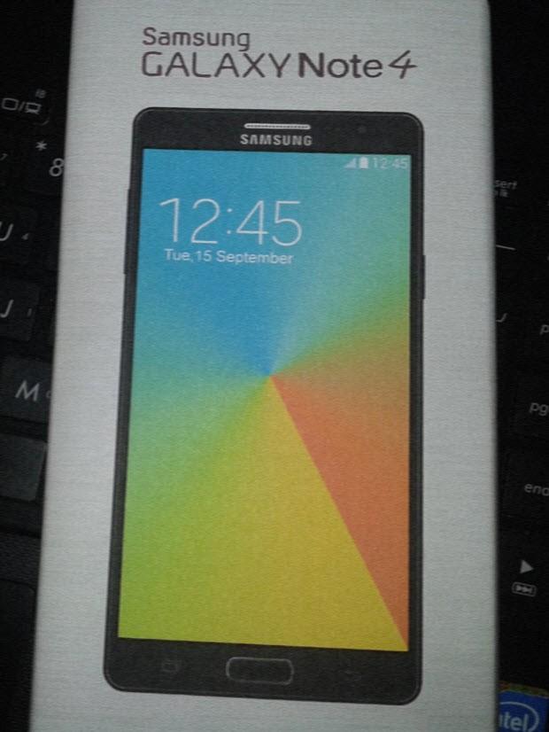 Samsung Galaxy Note 4'ten detaylı sızıntı!