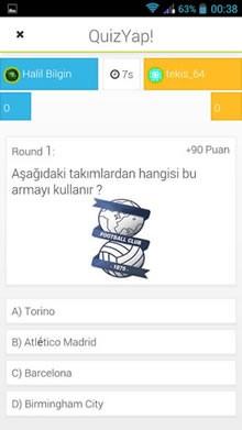 QuizYap! Online Bilgi Yarışı