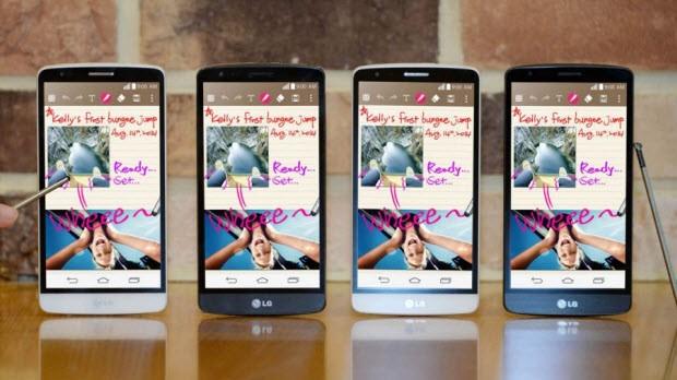 LG G Stylus, şimdiden ortaya çıktı!