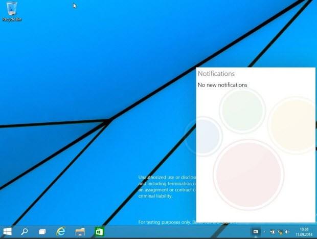 Windows 9'dan yeni kareler sızdı!