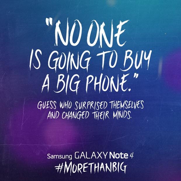 Samsung, iPhone 6 Plus'a sallamakta gecikmedi