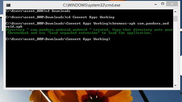 Chromeos-apk aracını nasıl kullanabilirsiniz?