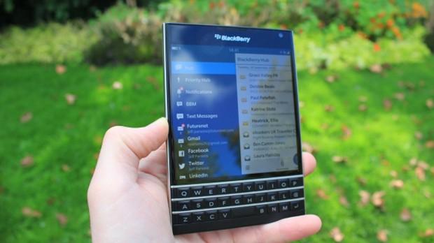 Kare ekranlı BlackBerry Passport testte! - CHIP Online