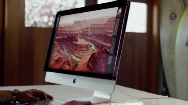"""Retina 5K"" ekranlı iMac"
