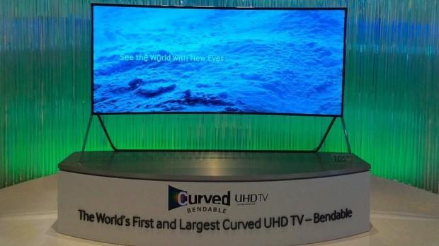 Samsung esnek TV ve Haier Modular TV