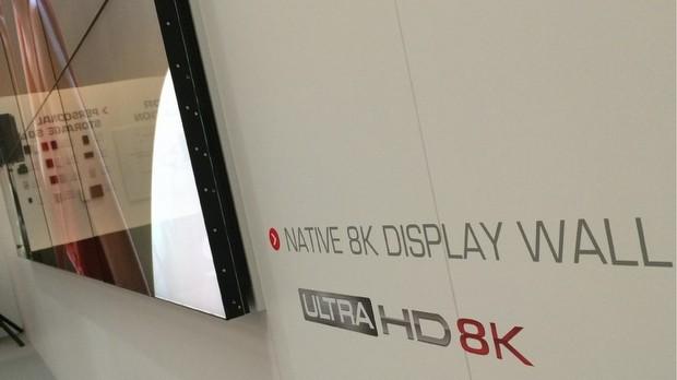5- Toshiba 220-inç 8k video duvarı